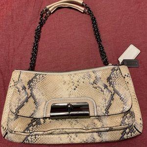 Coach snake print purse